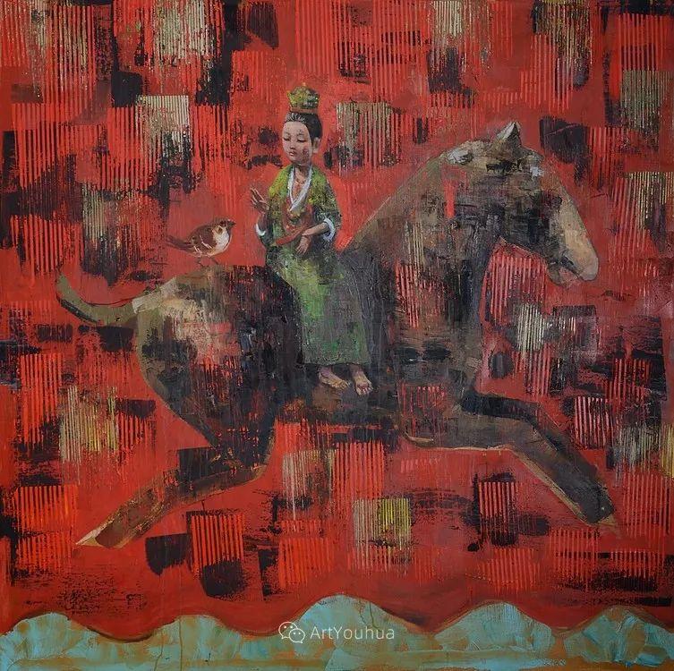 俏皮的具象,热情的色彩,美籍韩裔艺术家Rimi Yang插图149