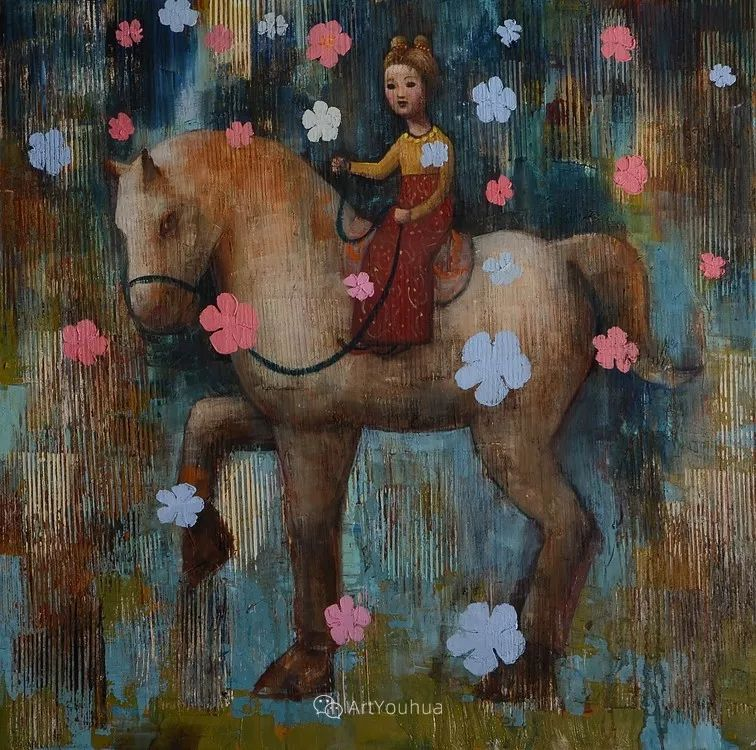 俏皮的具象,热情的色彩,美籍韩裔艺术家Rimi Yang插图157