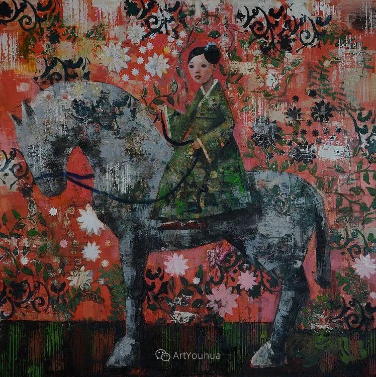 俏皮的具象,热情的色彩,美籍韩裔艺术家Rimi Yang插图177