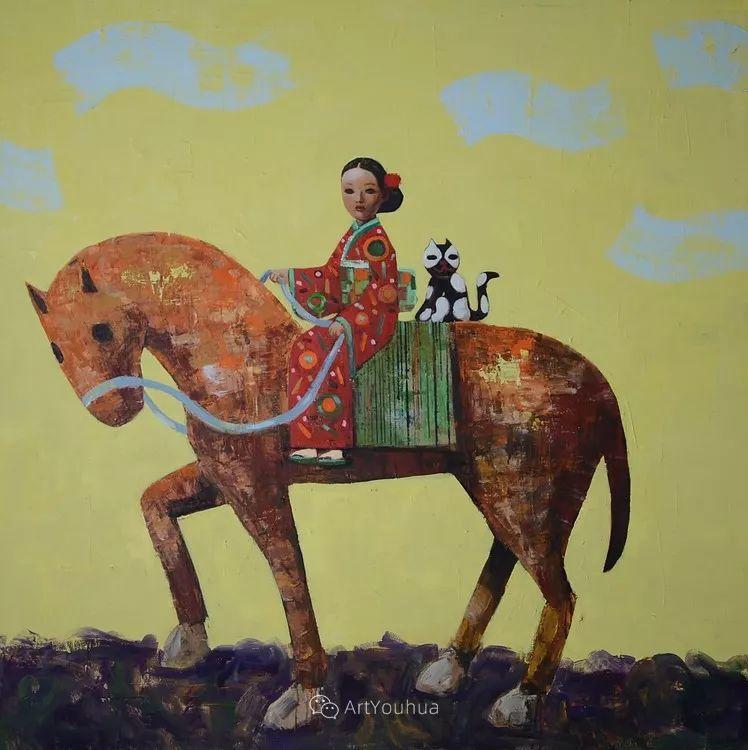 俏皮的具象,热情的色彩,美籍韩裔艺术家Rimi Yang插图181