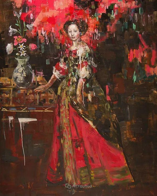 俏皮的具象,热情的色彩,美籍韩裔艺术家Rimi Yang插图195