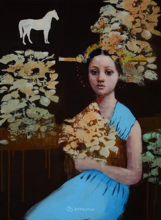 俏皮的具象,热情的色彩,美籍韩裔艺术家Rimi Yang插图219