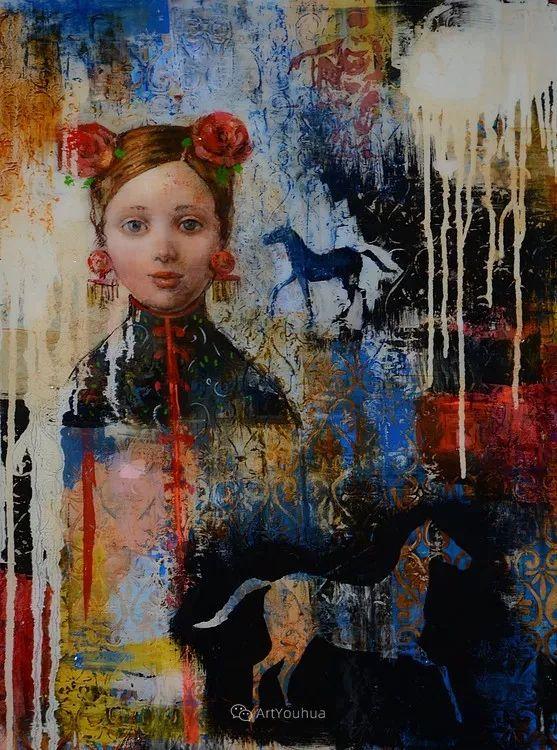 俏皮的具象,热情的色彩,美籍韩裔艺术家Rimi Yang插图223