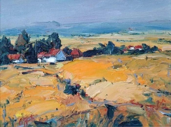 塞尔维亚风景画家,奥丹尼·德拉甘插图