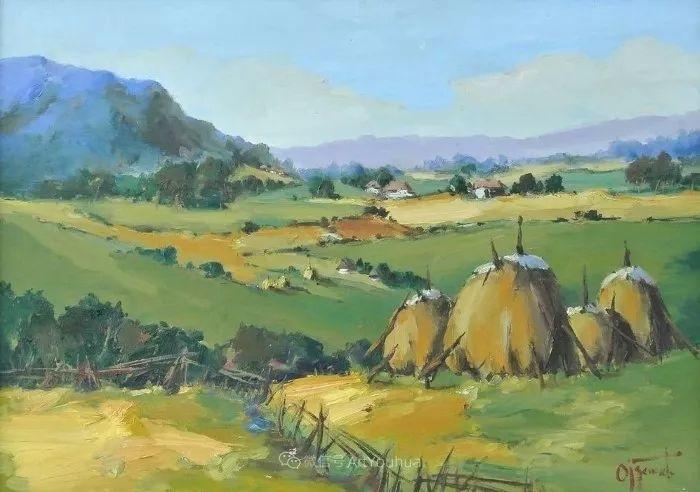 塞尔维亚风景画家,奥丹尼·德拉甘插图3