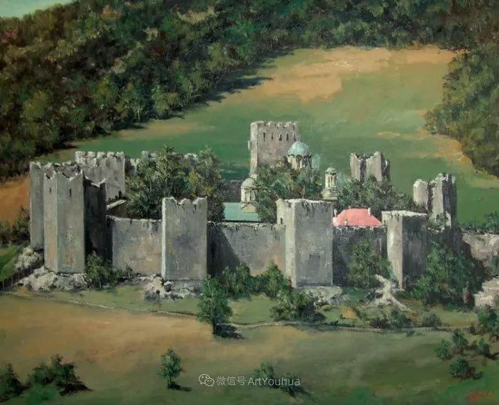 塞尔维亚风景画家,奥丹尼·德拉甘插图5