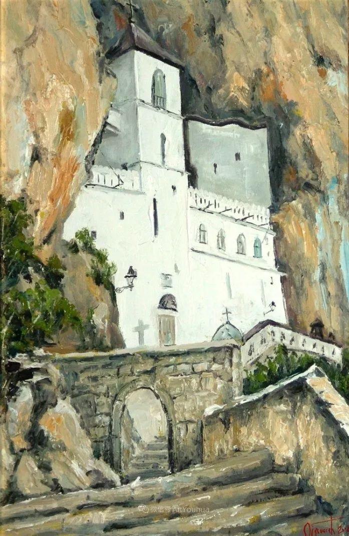 塞尔维亚风景画家,奥丹尼·德拉甘插图7