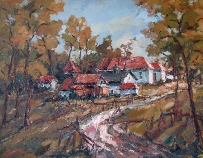 塞尔维亚风景画家,奥丹尼·德拉甘插图10