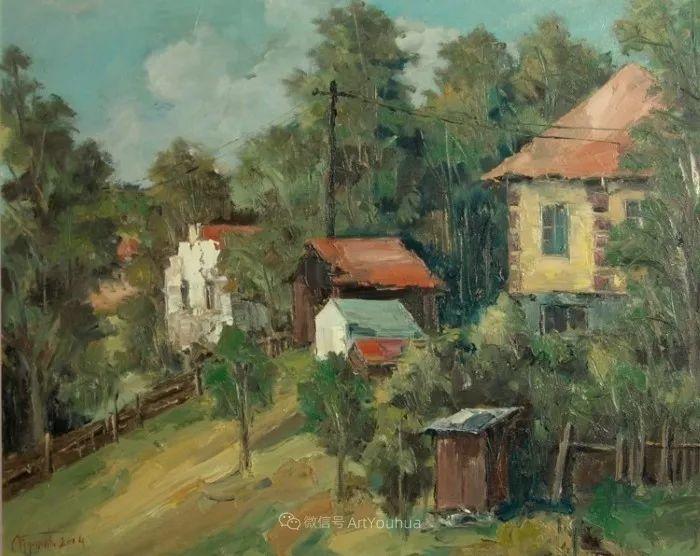 塞尔维亚风景画家,奥丹尼·德拉甘插图13