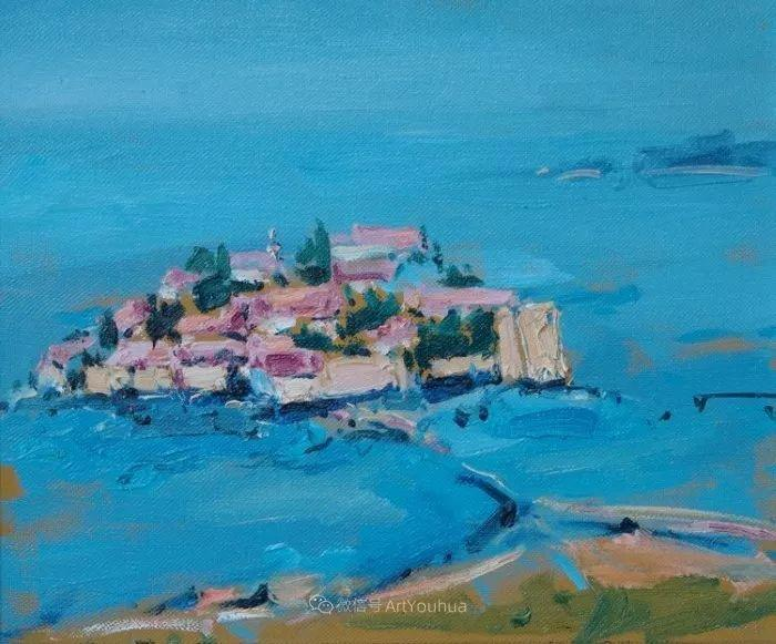 塞尔维亚风景画家,奥丹尼·德拉甘插图15