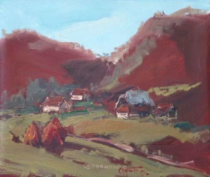 塞尔维亚风景画家,奥丹尼·德拉甘插图16