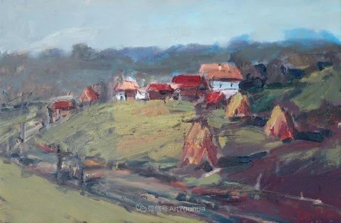 塞尔维亚风景画家,奥丹尼·德拉甘插图17