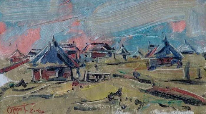 塞尔维亚风景画家,奥丹尼·德拉甘插图21
