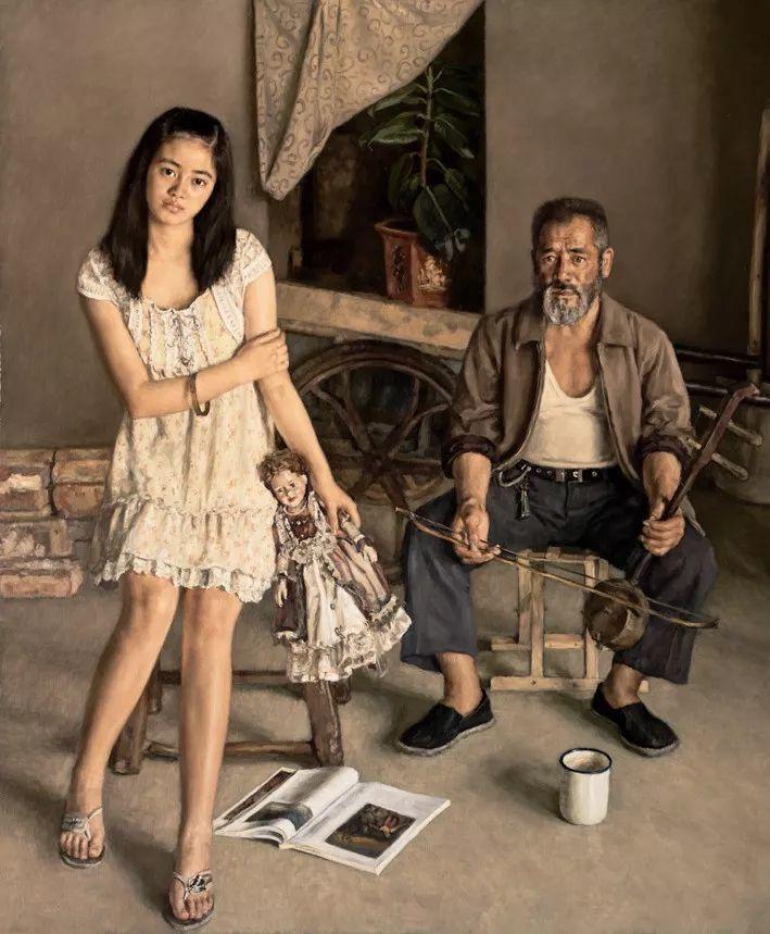 新婚燕尔时画妻子,拍卖三千多万!从师生到夫妻,画画一辈子插图39