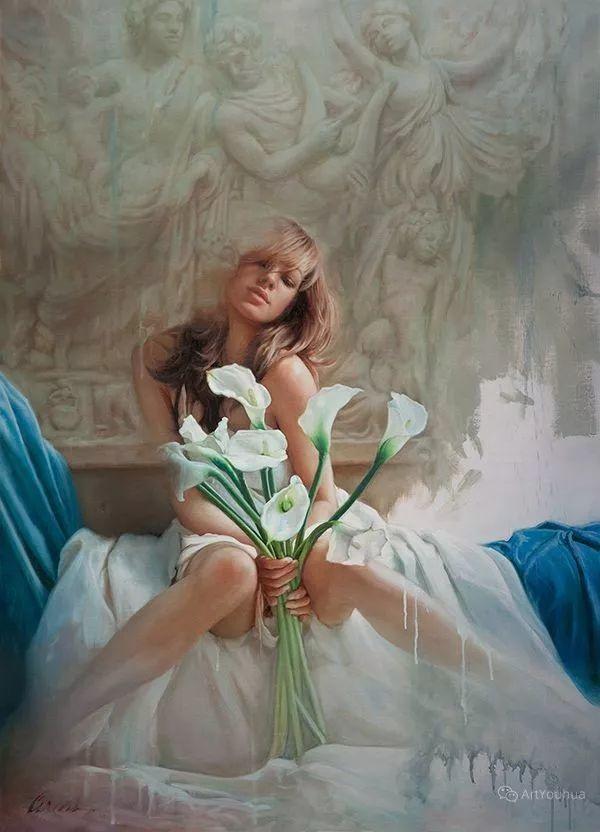 我相信艺术能唤醒灵魂,美国现实主义画家马克·阿里安插图1
