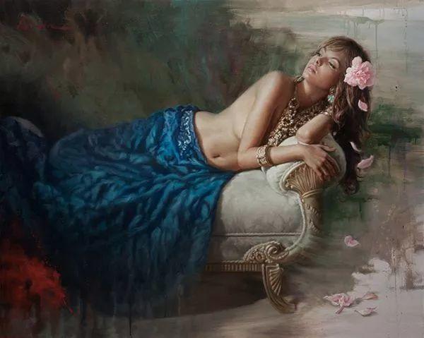 我相信艺术能唤醒灵魂,美国现实主义画家马克·阿里安插图15