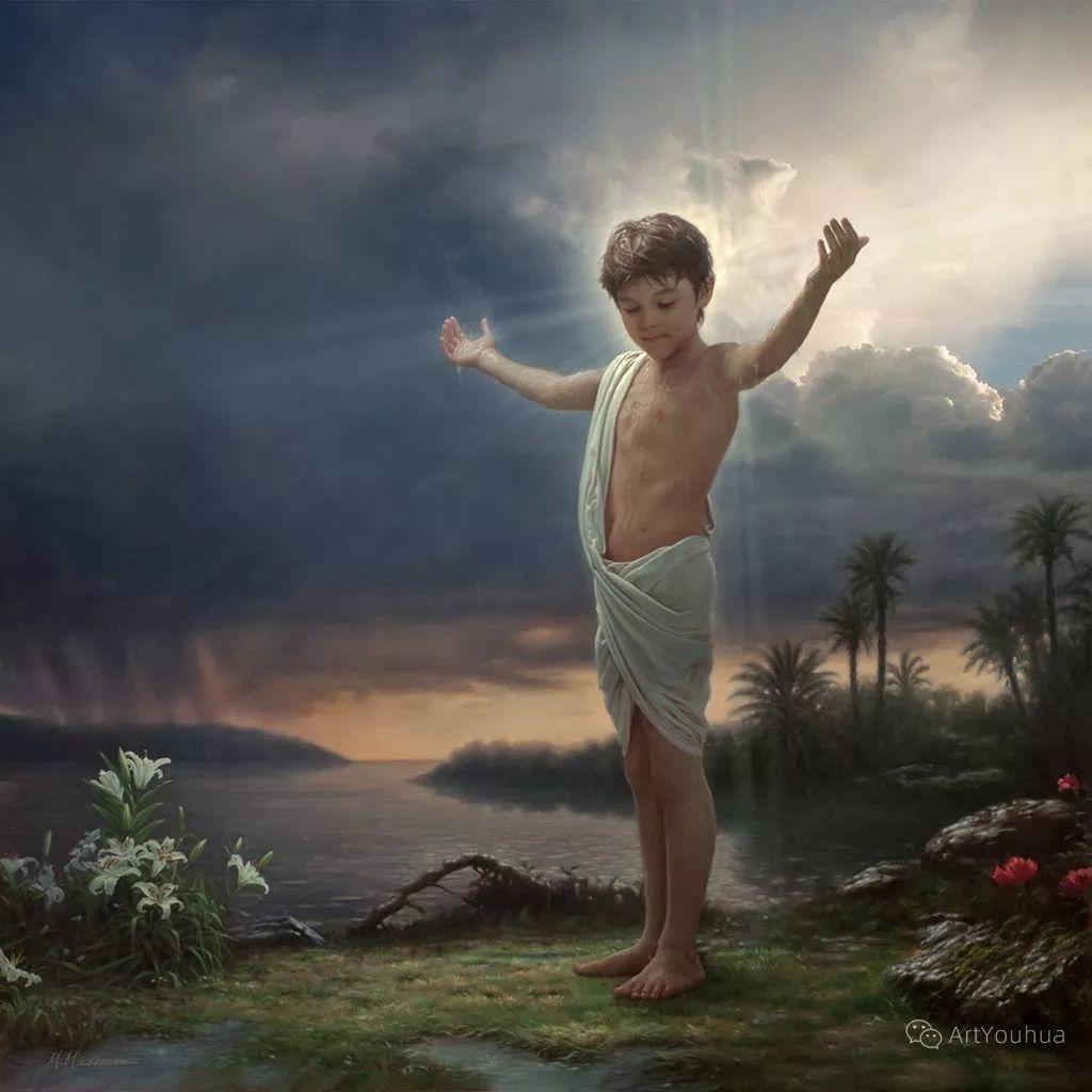 我相信艺术能唤醒灵魂,美国现实主义画家马克·阿里安插图29