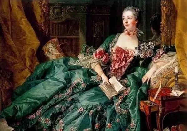 油画里致美的书香女人插图22