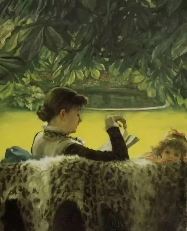 油画里致美的书香女人插图26
