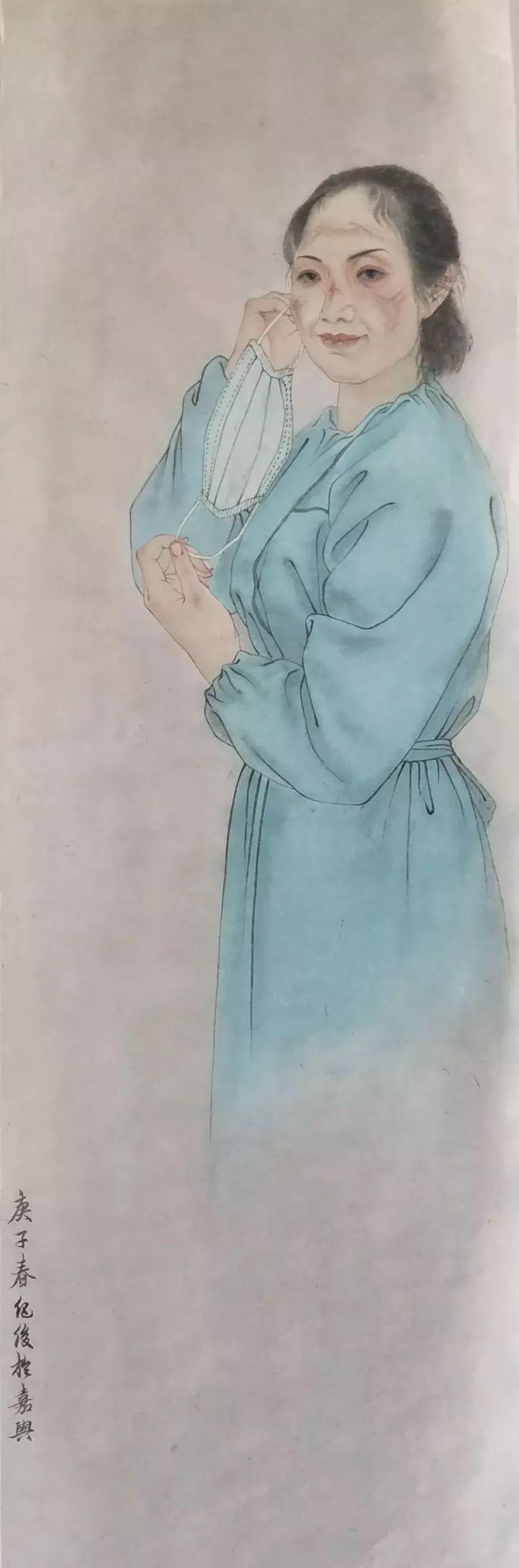 疫情当前,九大美院及千名画家用作品为武汉加油!看后暖哭了…插图29