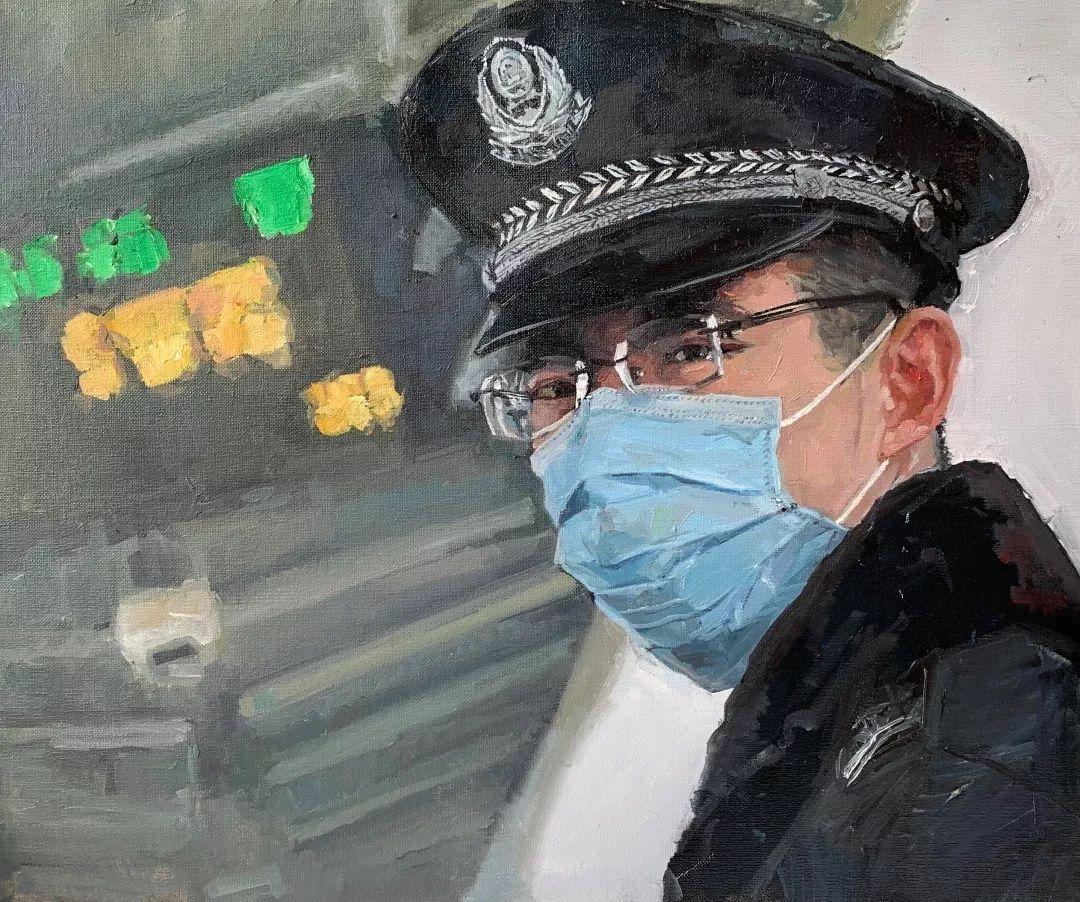 疫情当前,九大美院及千名画家用作品为武汉加油!看后暖哭了…插图56