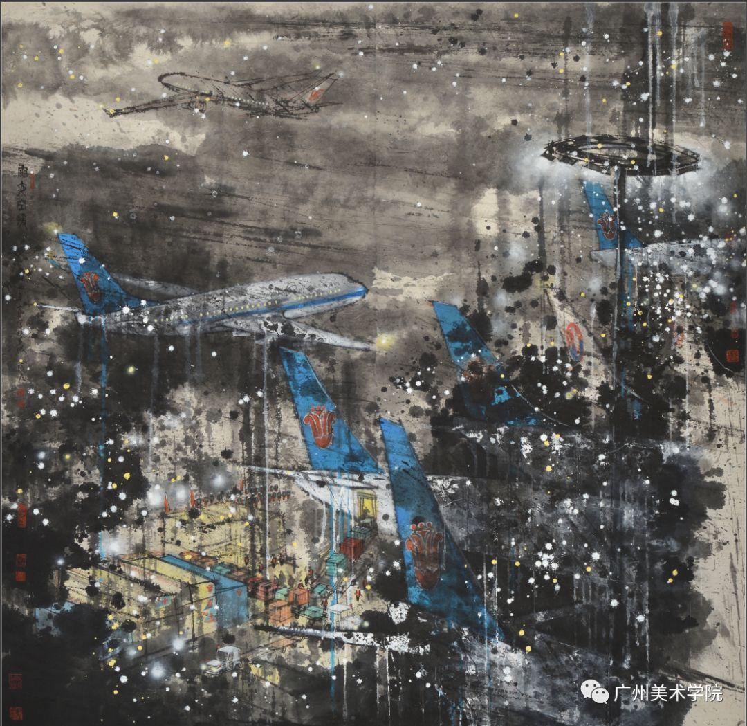 疫情当前,九大美院及千名画家用作品为武汉加油!看后暖哭了…插图72