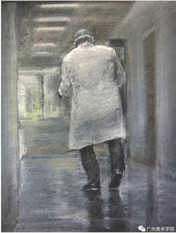 疫情当前,九大美院及千名画家用作品为武汉加油!看后暖哭了…插图77