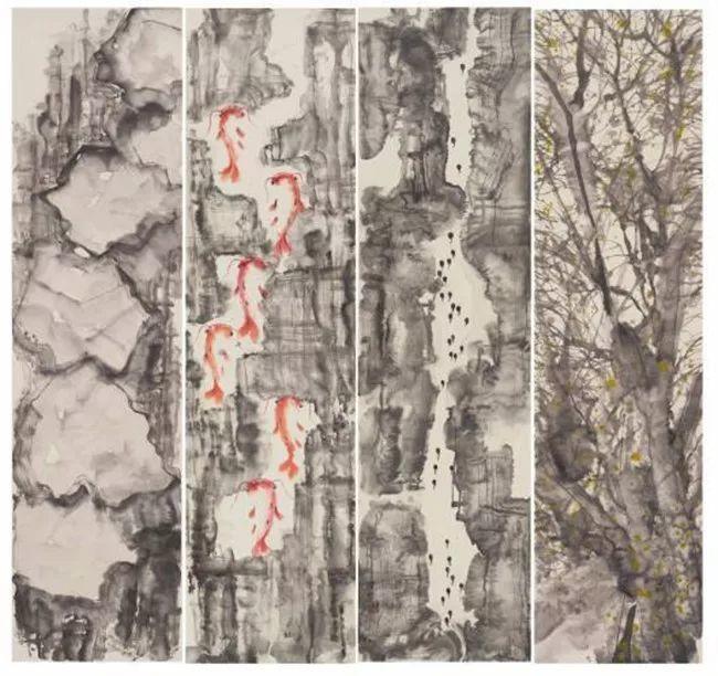 疫情当前,九大美院及千名画家用作品为武汉加油!看后暖哭了…插图134