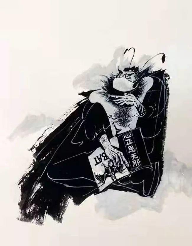 疫情当前,九大美院及千名画家用作品为武汉加油!看后暖哭了…插图136