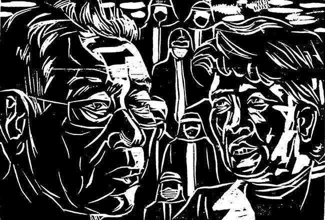 疫情当前,九大美院及千名画家用作品为武汉加油!看后暖哭了…插图141