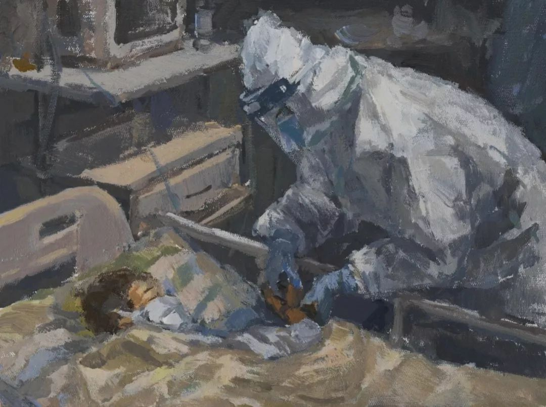疫情当前,九大美院及千名画家用作品为武汉加油!看后暖哭了…插图147