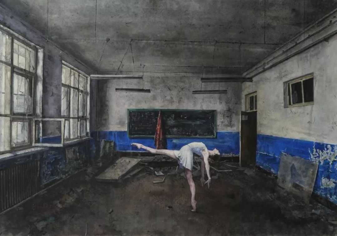 疫情当前,九大美院及千名画家用作品为武汉加油!看后暖哭了…插图151