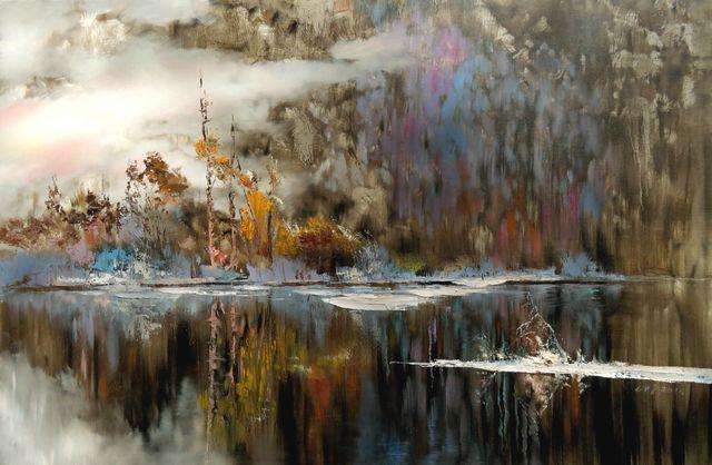 敬畏之心与崇高之美,罗晓平油画作品欣赏插图7