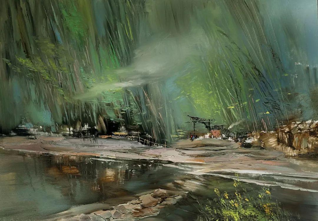 敬畏之心与崇高之美,罗晓平油画作品欣赏插图8