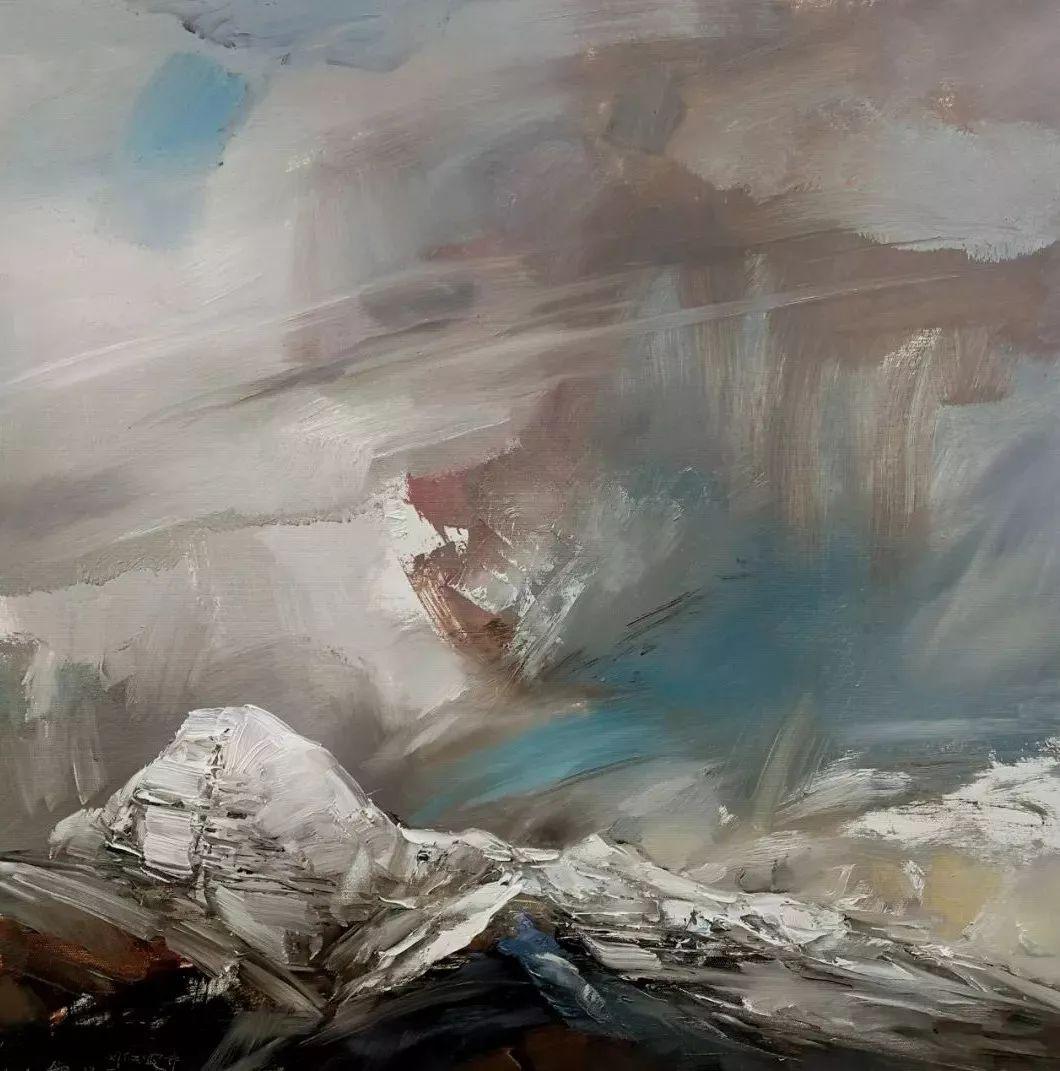 敬畏之心与崇高之美,罗晓平油画作品欣赏插图10