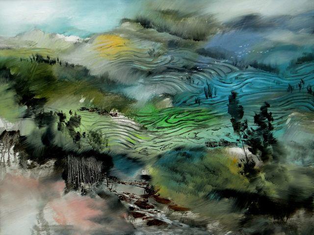 敬畏之心与崇高之美,罗晓平油画作品欣赏插图13