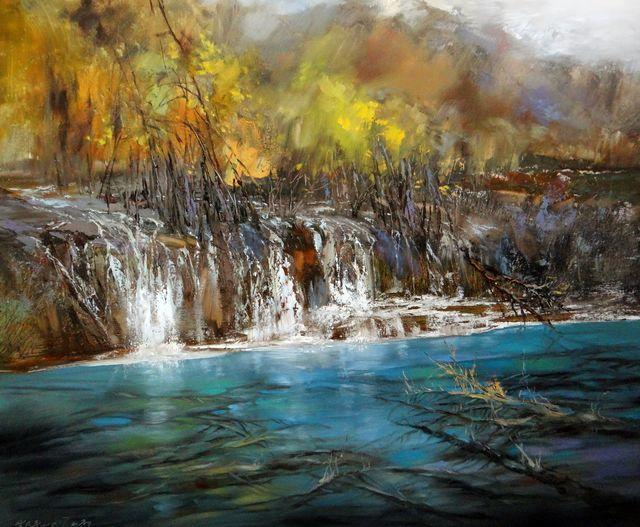 敬畏之心与崇高之美,罗晓平油画作品欣赏插图14