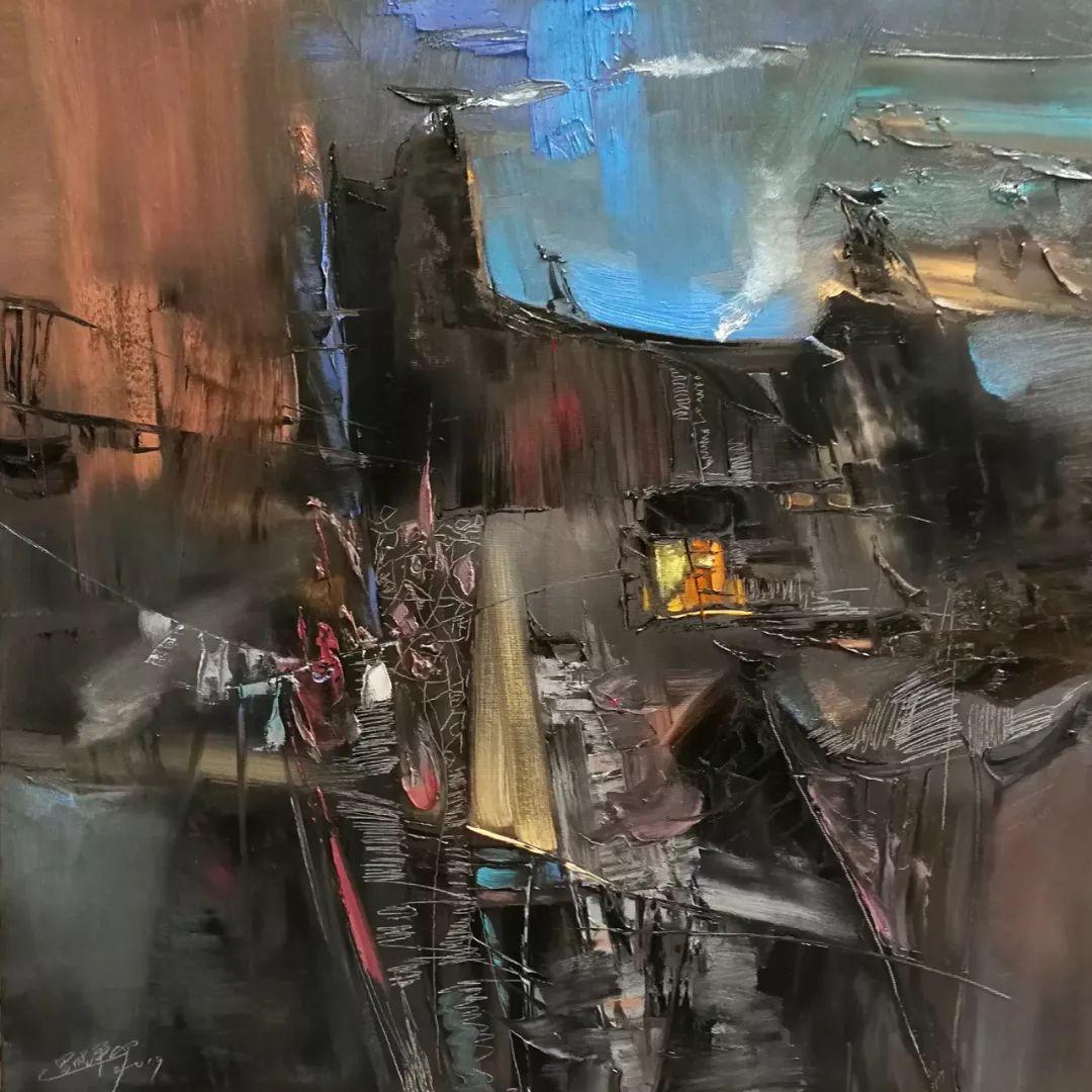 敬畏之心与崇高之美,罗晓平油画作品欣赏插图15