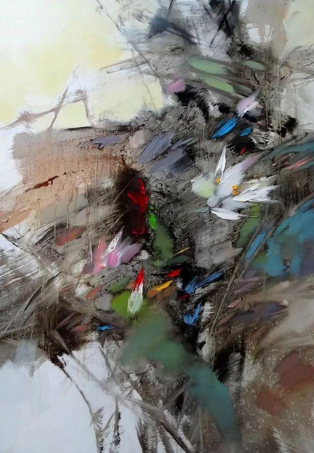 敬畏之心与崇高之美,罗晓平油画作品欣赏插图17