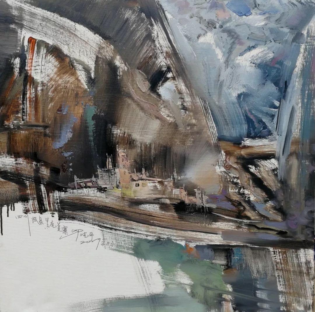 敬畏之心与崇高之美,罗晓平油画作品欣赏插图18