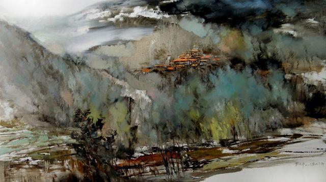 敬畏之心与崇高之美,罗晓平油画作品欣赏插图24