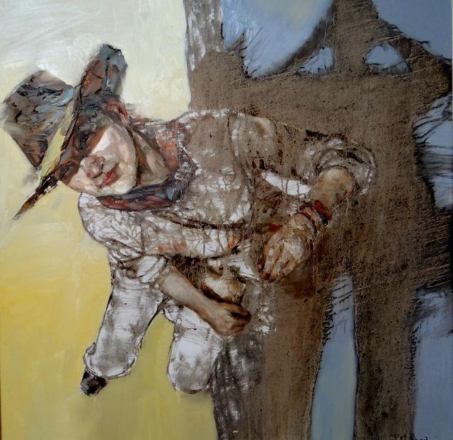 敬畏之心与崇高之美,罗晓平油画作品欣赏插图35