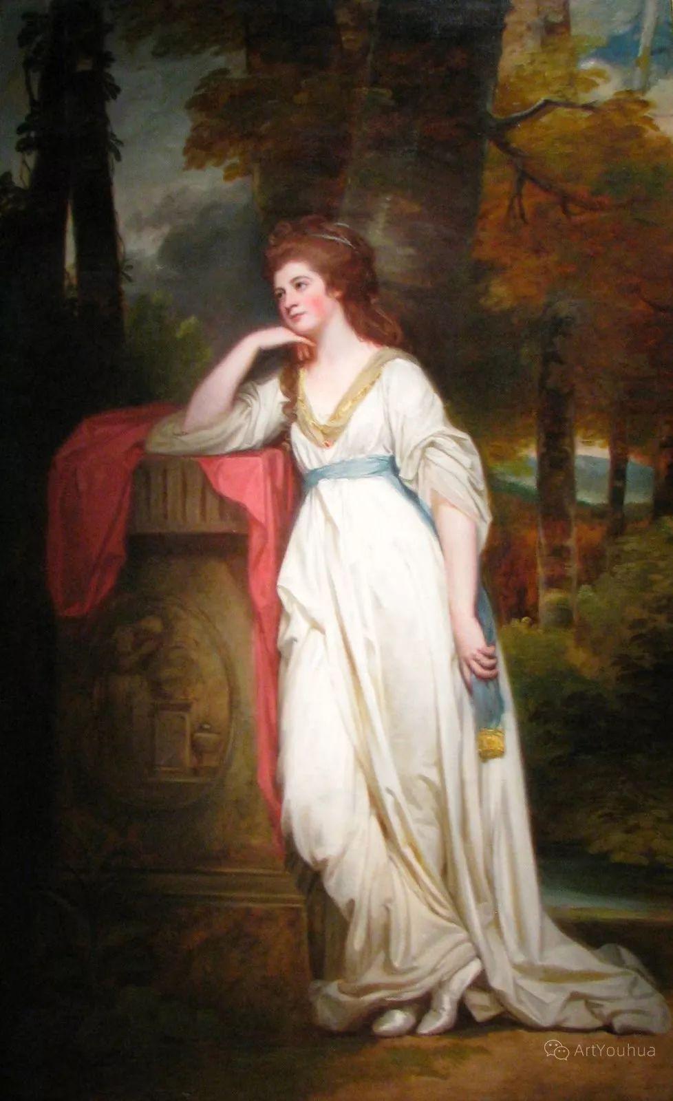 他是他那个时代最时尚的艺术家,画过许多社会名流,英国艺术家乔治·罗姆尼 85图插图19