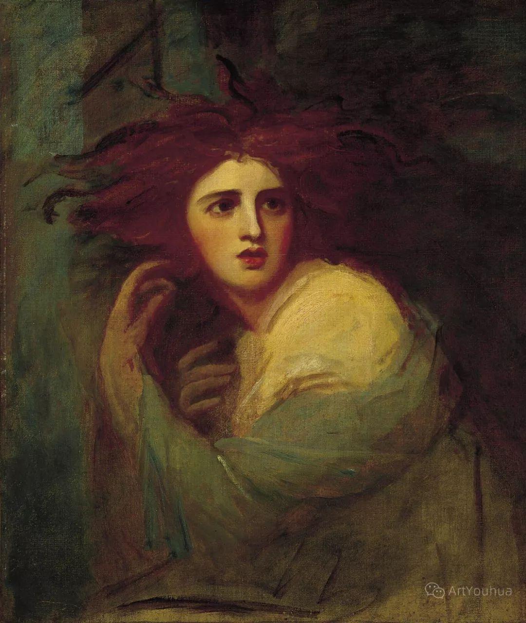 他是他那个时代最时尚的艺术家,画过许多社会名流,英国艺术家乔治·罗姆尼 85图插图35