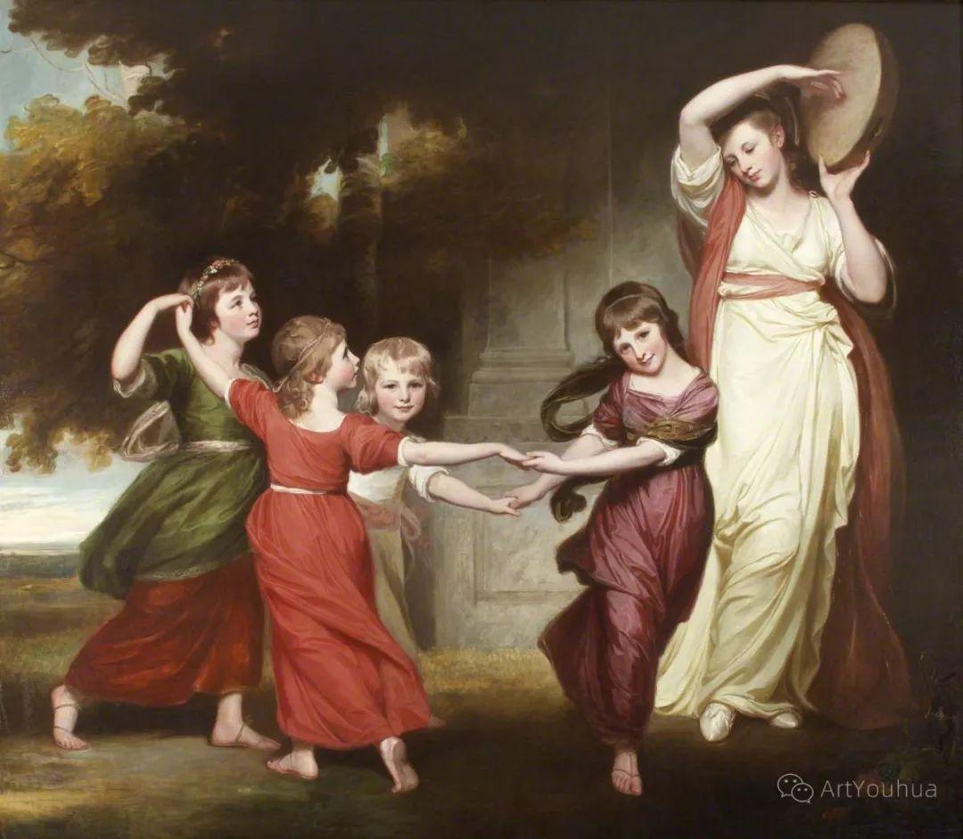 他是他那个时代最时尚的艺术家,画过许多社会名流,英国艺术家乔治·罗姆尼 85图插图41