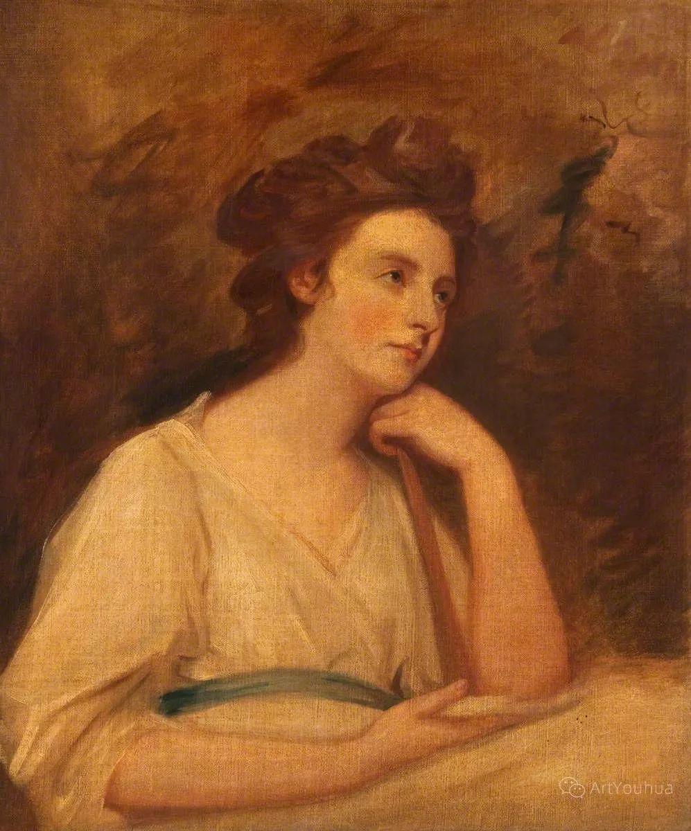 他是他那个时代最时尚的艺术家,画过许多社会名流,英国艺术家乔治·罗姆尼 85图插图47