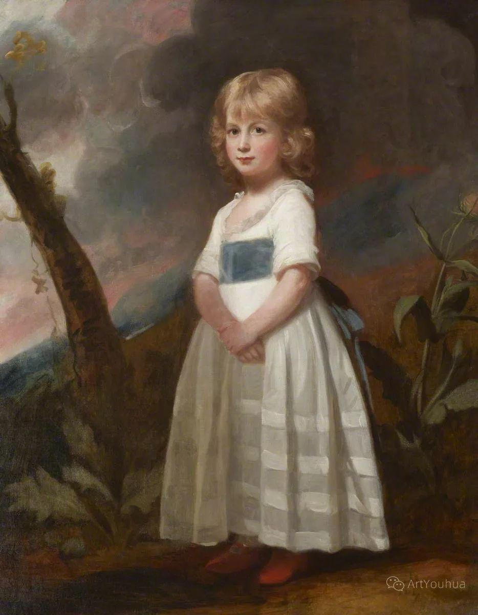 他是他那个时代最时尚的艺术家,画过许多社会名流,英国艺术家乔治·罗姆尼 85图插图53