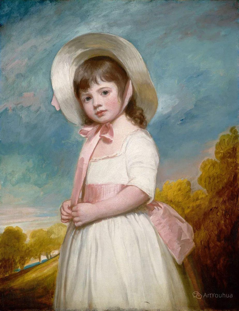 他是他那个时代最时尚的艺术家,画过许多社会名流,英国艺术家乔治·罗姆尼 85图插图55