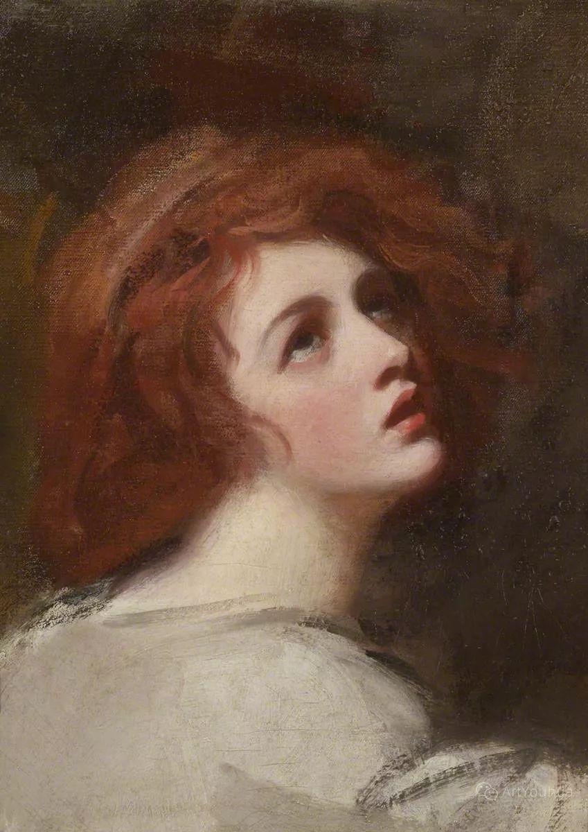 他是他那个时代最时尚的艺术家,画过许多社会名流,英国艺术家乔治·罗姆尼 85图插图63