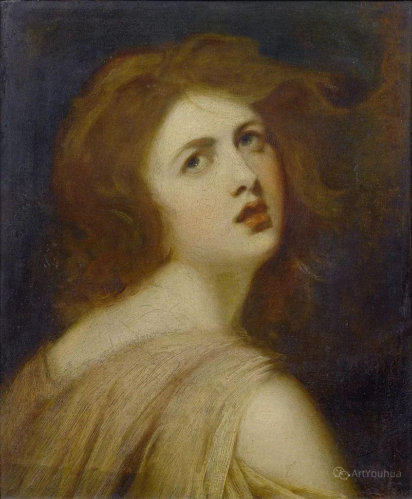 他是他那个时代最时尚的艺术家,画过许多社会名流,英国艺术家乔治·罗姆尼 85图插图77